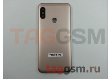 Задняя крышка для Xiaomi Mi A2 Lite / Redmi 6 Pro (золото), ориг