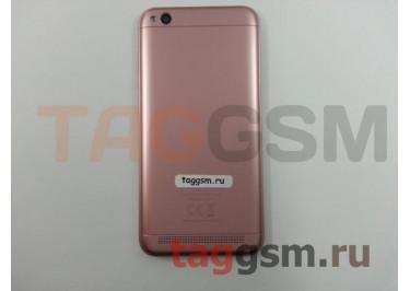 Задняя крышка для Xiaomi Redmi 5A (розовый)