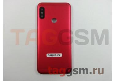 Задняя крышка для Xiaomi Mi A2 Lite / Redmi 6 Pro (красный), ориг