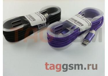 Кабель USB - micro USB (ткань), в ассортименте