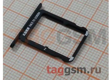 Держатель сим для Xiaomi Mi Mix 2S (черный)