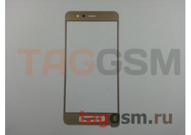 Стекло для Huawei P10 Lite (золото)