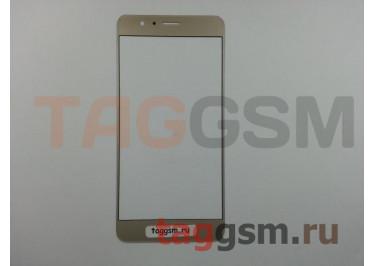 Стекло для Huawei Honor 8 (золото)