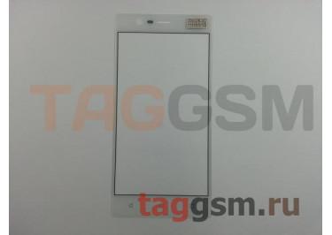 Стекло для Nokia 3 (белый)