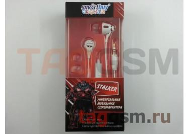 Гарнитура мобильная Smart Buy STALKER, крас / бел (SBH-1020)