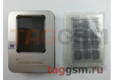 Набор BGA трафаретов Mechanic S15 в металлическом кейсе для iPhone (комплект 12шт)