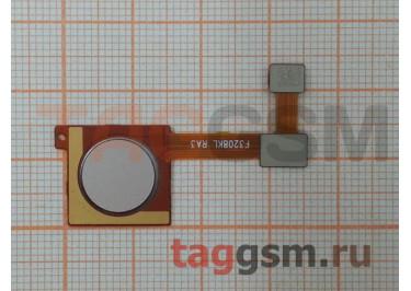 Шлейф для Xiaomi Mi A2 + сканер отпечатка пальца (золото)