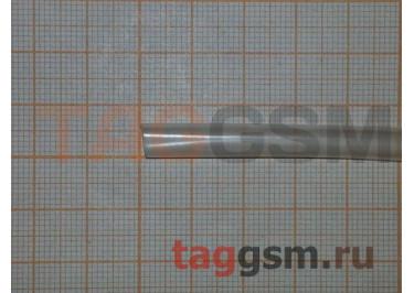 Термоусадочная трубка (5,0 мм  /  2,5 мм, длина 1м, прозрачная) Rexant