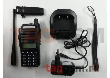 Радиостанция носимая (рация) Baofeng UV-82 (черный) (136-174MHz / 400-520MHz)