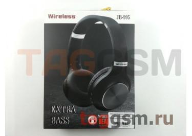 Беспроводные наушники (полноразмерные Bluetooth) (черный) JB-995