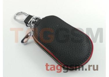 Чехол для автомобильных ключей Infiniti (кожа) (черный) тип 3