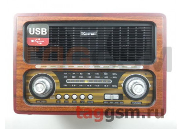Колонка (MD-1800BTch) (Bluetooth+USB+SD+MicroSD+FM) (черная)