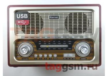 Колонка (MD-1800BTch) (Bluetooth+USB+SD+MicroSD+FM) (золото)