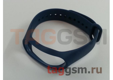 Браслет для Xiaomi Mi Band 3 / 4 (Strap AA) (темно-синий)