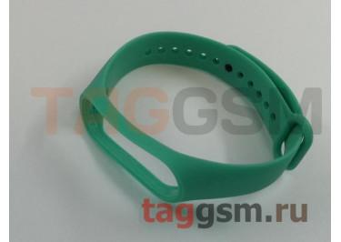 Браслет для Xiaomi Mi Band 3 / 4 (Strap AA) (зеленый)