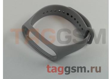 Браслет для Xiaomi Mi Band 3 / 4 (Strap AA) (серый)