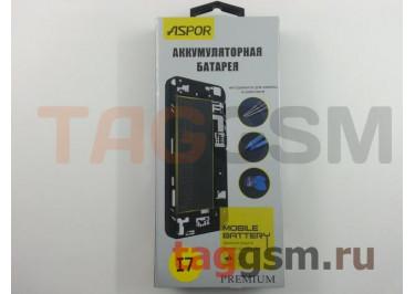 АКБ для iPhone 7 + инструменты для замены, ASPOR