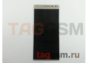 Дисплей для Alcatel 5086D 5 + тачскрин (золото)