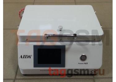 Станок для склейки дисплейного модуля AIDA A-808M (автоклав, компрессор, вакуумная камера + пресс, вакуумный насос)
