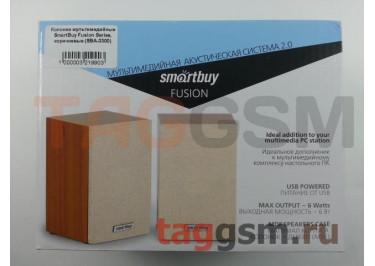 Колонки мультимедийные SmartBuy Fusion Series, коричневые (SBA-3300)