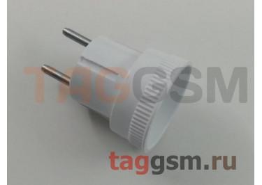Сетевой адаптер на евророзетку (белый), ФАZА
