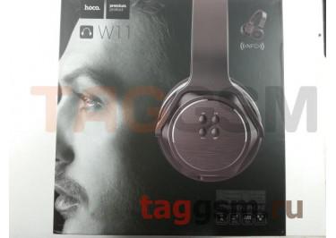 Беспроводные наушники (полноразмерные Bluetooth) (черный) HOCO, Listen W11