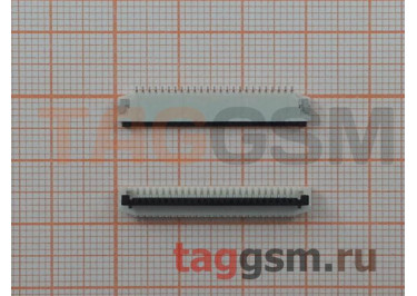 Коннектор клавиатуры, интервал 1мм (25pin)