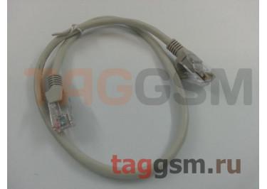 Патч-корд литой UTP Кат.5е 0,5м белый