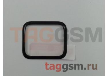 Пленка / стекло на дисплей для Apple Watch 40мм (Gorilla Glass) 3D (черный)  Ainy