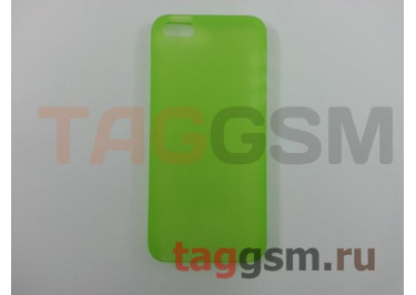 Задняя накладка Ozaki Oicoat 0.3 Jelly для iPhone5 / 5S (Green (OC533GN))