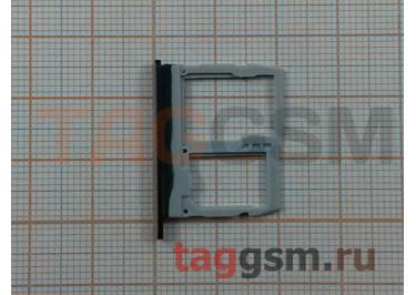 Держатель сим для LG G6 H870DS (черный)