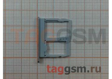 Держатель сим для LG G6 H870DS (золото)
