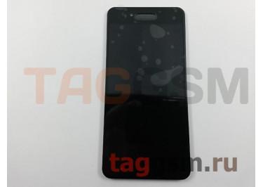 Дисплей для ZTE Blade A610C + тачскрин (черный)