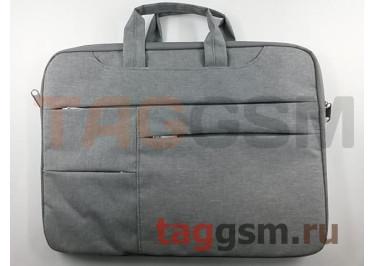 Сумка для ноутбука 15,6 дюймов (серый)