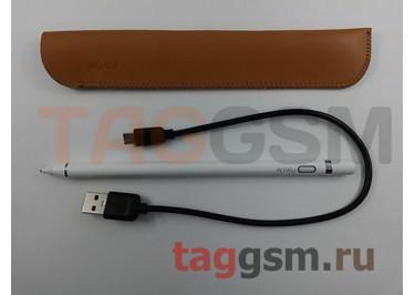 Стилус Picaso Pencil P339 для сенсорных дисплеев Apple, Android, Windows (белый), Wiwu