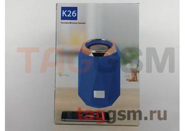 Колонка портативная (Bluetooth+AUX+MicroSD) (камуфляж) K26
