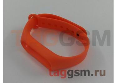 Браслет для Xiaomi Mi Band 2 (Strap AA) (оранжевый)