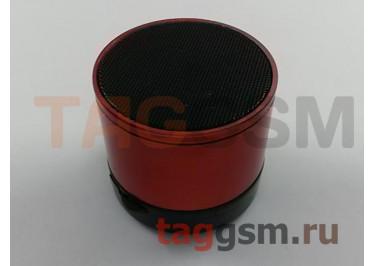 Колонка (Bluetooth, USB, microSD, красная) (S10)