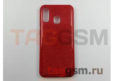 Задняя накладка для Samsung A20 / A205 Galaxy A20 (2019) (силикон, красная (BRILLIANT)) NEYPO