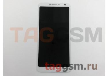 Дисплей для Alcatel 5099D 3V + тачскрин (белый)