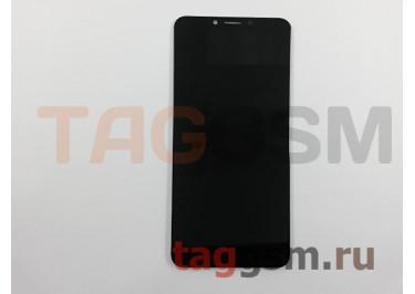 Дисплей для Alcatel 5060D 5V + тачскрин (черный)