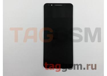 Дисплей для Alcatel 5058I 3X + тачскрин (черный)