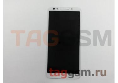 Дисплей для Alcatel 5058I 3X + тачскрин (белый)