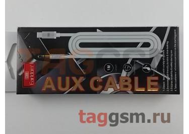 Аудио-кабель AUX 3.5mm - Type-C (серый) Earldom