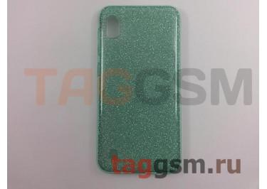 Задняя накладка для Samsung A10 / A105 Galaxy A10 (2019) (силикон, бирюзовая (BRILLIANT)) NEYPO