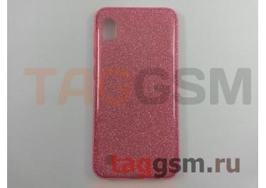 Задняя накладка для Samsung A10 / A105 Galaxy A10 (2019) (силикон, розовая (BRILLIANT)) NEYPO