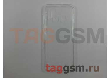 Задняя накладка для Samsung A20 / A205 Galaxy A20 (2019) (силикон, прозрачная) техпак