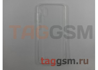 Задняя накладка для Samsung A10 / A105 Galaxy A10 (2019) (силикон, прозрачная) техпак