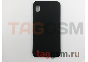 Задняя накладка для Samsung A10 / A105 Galaxy A10 (2019) (матовая, черая) NEYPO