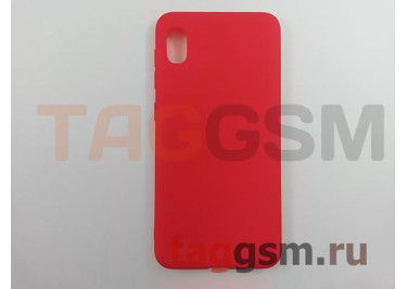 Задняя накладка для Samsung A10 / A105 Galaxy A10 (2019) (силикон, матовая, красная (Soft Matte)) NEYPO